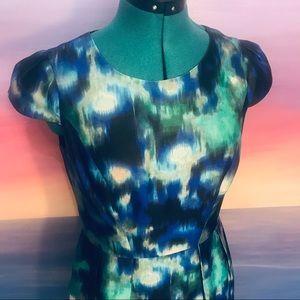 Shoshanna watercolor dress